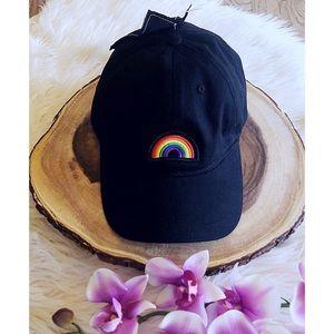 NWT Peter Grimm Rainbow Baseball Cap